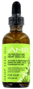 Amir 100 Percent Pure Hemp Seed Oil.