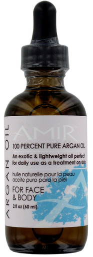 Amir 100% Pure Argan Oil for Face and Body