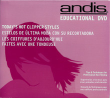 Andis Educational DVD, Today's Hot Clipper Styles