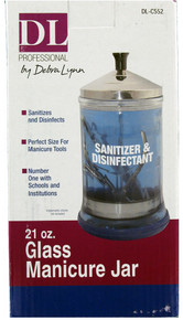 DL Professional Sanitizer & Disinfectant 21oz Glass Jar