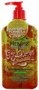 Hempz Goji Orange Lemonade herbal body moisturizer