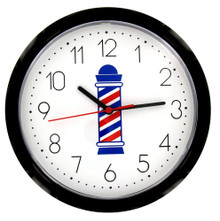 Barber Pole Clock