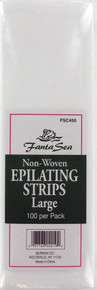 Fanta Sea Non-Woven Large Epilating Strips. 100 Pack.