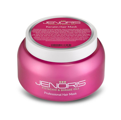 Jenoris Keratin Hair Mask, 16.9 fl. oz.