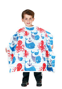 Anchors Away Styling Cape for Children by Betty Dain Creations