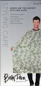 Show Me The Money Styling Cape, by Betty Dain