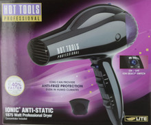 HOT TOOLS Professional Ionic Anti-Static Hair Dryer