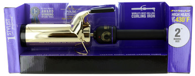 "Hot Tools 2"" Salon Curling Iron/Wand, 24k Gold"