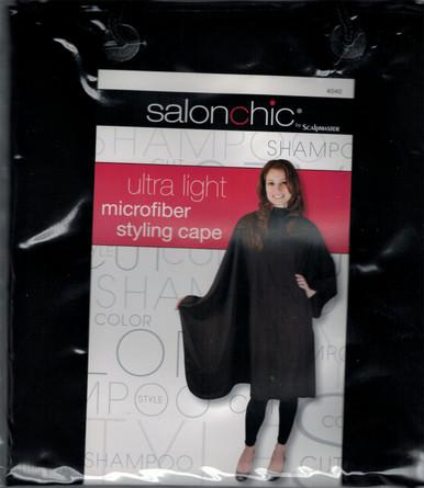 Salonchic Ultra Light Microfiber Styling Cape by Scalpmaster