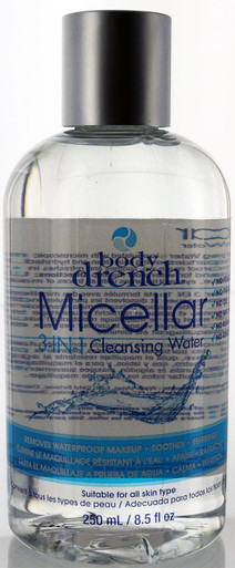 Body Drench Micellar 3-In-1 Cleansing Water 8.5 fl oz.