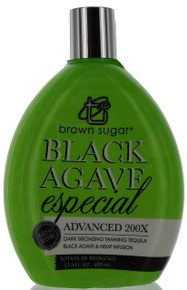 Brown Sugar Black Agave especial tanning lotion with 200X advanced bronzers by Tan Inc.