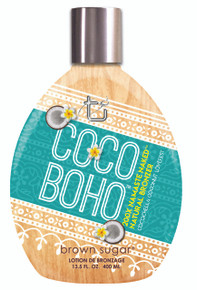 Coco Boho Tanning Lotion with Natural Bronzer. 13.5 fl oz