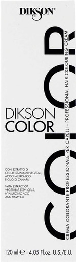 Dikson Color Extra 6.0  6N. Dark Blonde. 4.5 fl oz tube.