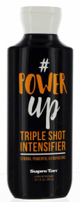# Power Up Triple Shot Intensifier Tanning Lotion.