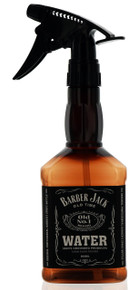 Barber Jack Old Time Water Bottle. 20 oz / 600 ml