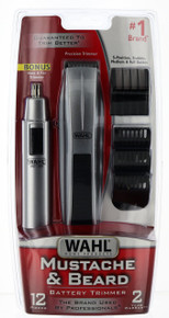Wahl Mustache & Beard Battery Trimmer Set.