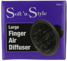 Soft 'n Style Large Finger Air Diffuser FAD-3