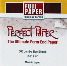 Perfect Paper, The Ultimate Perm End Paper from Fuji Paper. 500 piece box.