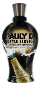 Pauly D's Bottle Service Tanning Lotion with Black Brozner. 12.25 fl oz