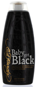 Ed Hardy Baby Got Black Tanning Lotion with Explosively Dark Black Bronzing Cocktail. 10 fl oz