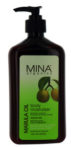Mina Organics Body Moisturizer with Marula Oil. 18 fl oz.