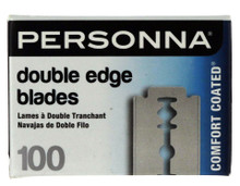 Personna Double Edge Blades, 100 pack.