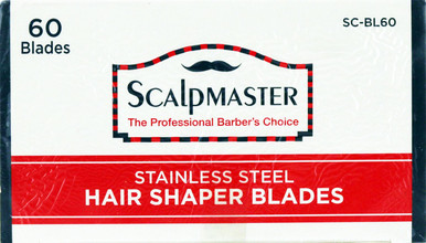 Scalpmaster Hair Shaper Blades. SC-BL6032 .