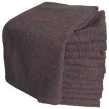 Softees Brown Microfiber Towels - 10 Pack