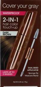 Cover Your Gray 2-In-1 Hair Color Touch-Up. Dark Brown