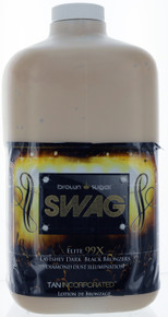 Tan Inc. Brown Sugar Swag Tanning Lotion with Lavishly Dark Black Bronzers. 64 oz.