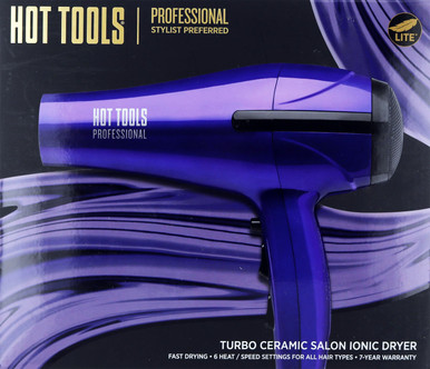 Hot Tools Turbo Ceramic Salon Ionic Dryer