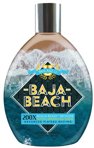 Tan Asz U Baja Beach Tanning Lotion with Beach Ready Bronzers. 13.5 fl oz