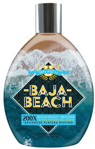 Tan Asz U Baja Beach Tanning Lotion with Beach Ready Bronzers. 13.5 fl oz