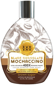 Black Chocolate Mochaccino with Ultra Advanced 400X Bronzing Frappe, 13.5 fl oz