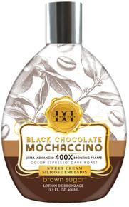 Black Chocolate Mochaccino with Ultra Advanced 400X Bronzing Frappe, 13.5 fl oz