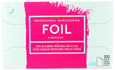 Colortrak Professional Haircoloring Foil (embossed). 500 Pop - Up Sheets.