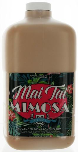 Tan Asz U Tanning Lotion with 200X Bronzing Rum. 64 fl oz Professional Size.