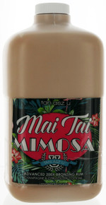 Tan Asz U Tanning Lotion with 200X Bronzing Rum. 64 fl oz Professional Size.