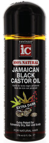 Fantasia 100% Natural Jamaican Black Castor Oil. 6 fl oz