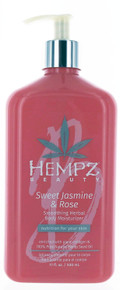 Hempz Beauty Swwt Jasmine & Rose Smoothing Herbal Body Moisturizer, 17oz