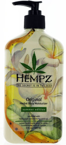 Hempz original  herbal moisturizer limited summer edition, 17 fl oz.