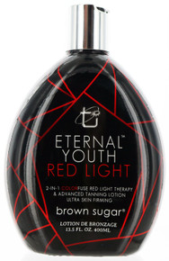 Eternal Youth Red Light 2-in-one Color Fuse Red Light Therapy and Tanning Lotion by Tan Inc. 13.5oz
