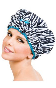 Sassy Stripes Shower Cap by Betty Dain