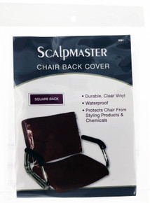 Scalpmaster Chair Back Cover - Square Back.
