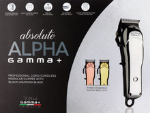 Absolute Alpha Gamma+ Professional Cord/Cordless Clipper