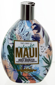 Midnight Maui Double Shot with 400X Bronzer 13.5oz Tan Asz U