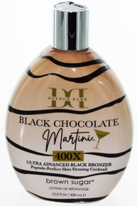 Black Chocolate Martini 400X Ultra Advanced Bronzer 13.5oz by Brown Sugar