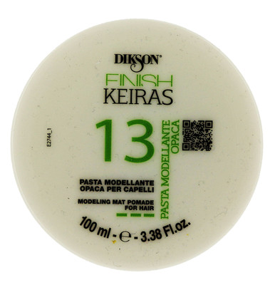 Dikson Finish Keiras 13 Modeling Mat Pomade For Hair.