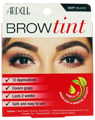 Soft Black Brow Tint by Ardell