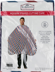 Modern Striped Cutting Cape by Scalpmaster
